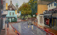 Roger Dellar RI PS ROI - Carshalton I - Oil - £650 framed