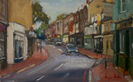 Roger Dellar RI PS ROI - Carshalton II - Oil - £650 framed