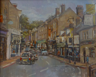 Derek Daniells - Carshalton High St - 16 x 20 - £1,400 framed