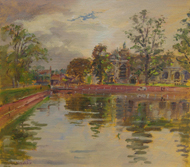 Steven Alexander - Carshalton 8x10 - £400 unframed or £450 framed
