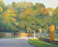 Morning Light, Carshalton Park Road 16x20 - SOLD