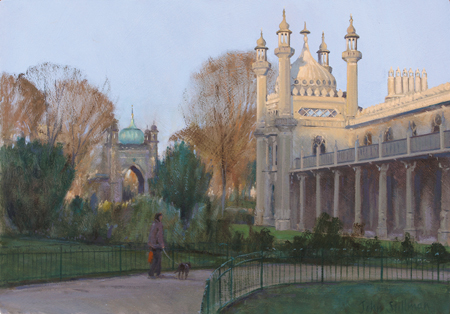Pavillion Gardens, Brighton 10x14 - £SOLD