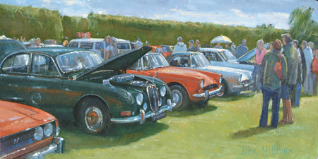 The Car Show, Woodcote 6x12 - £625