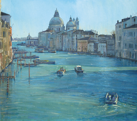 The Grand Canal, Venice 16x18 - £SOLD