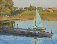Blue Sails, Yarmouth, IOW 14x18 - £825