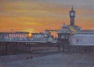 The Clock Tower, Palace Pier, Brighton 7x10 - £550