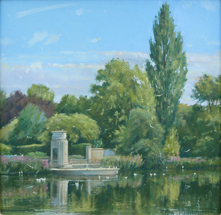 The Memorial, Carshalton Ponds 10x10 £SOLD