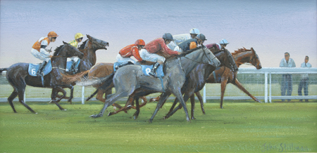 The Start, Epsom 8x16 - £SOLD