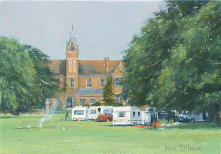 Tinkers in the Park, Beddington 7x10 - £550